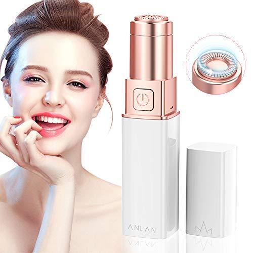 ANLAN Afeitadora Eléctrica Facial Mujer Mejillas