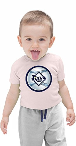 Tampa Bay Rays Logo Organic Baby T-shirt 12 - 18 Months (Ray-shirt Bay Tampa)