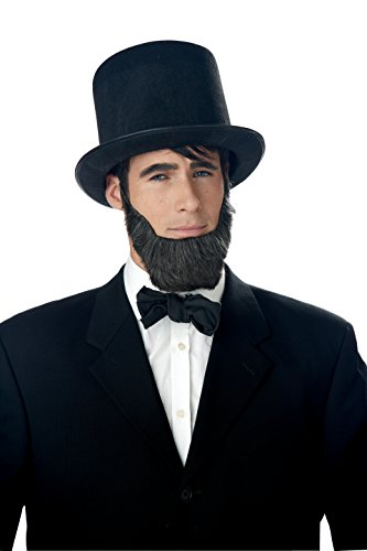 California Costumes Abraham Lincoln Beard