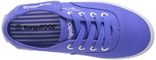 Kangaroos Gizella, Chaussons Sneaker Fille Bleu (Almostroyal 490)
