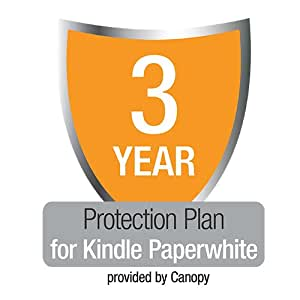 3-Year Kindle Paperwhite Protection Plan with Accident & Theft Cover, UK customers only