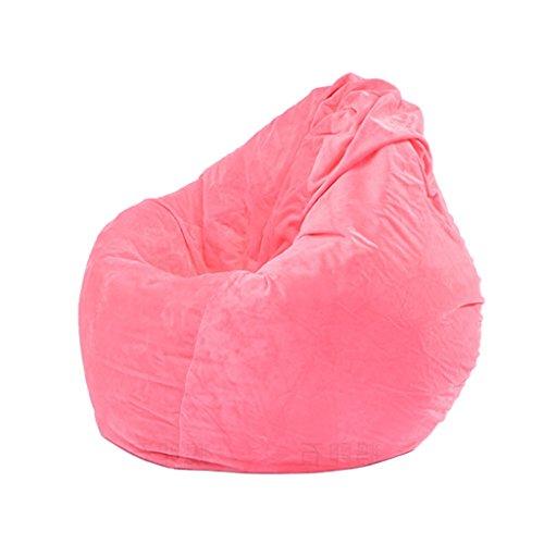 FLAMEER Sofa Sitzsackbezg Sitzsack Sessel Bezug Sitzkissen Bean Bag - Rosa