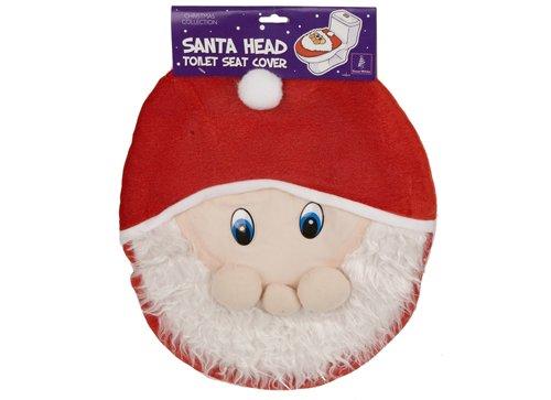 Babbo Natale sedile wc copre la testa