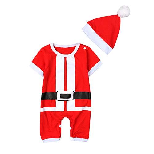Bébé Fille Déguisement Noël, Nouveau-né bébé Fille garçon Costume de +  Chapeau de fdc90999bbb