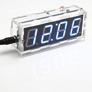 Kits Arduino, Diy 4 chiffres affichage à sept segments kit