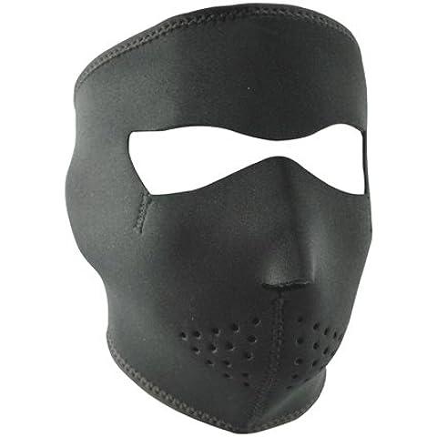 ZANheadgear Máscara de Neopreno para Moto, Quad, Esquí y Snowboard con Fleece Lining WNFL114