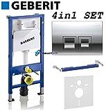 Geberit Duofix 1.12m WC Rahmen Delta Spülkasten Wandhalter WC Bogen Delta50