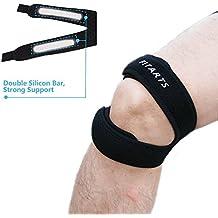 Rótula correa rodilla banda correa de infrapatellar de neopreno ajustable Lumbar para rodillera para correr, baloncesto, deportes al aire libre ayuda con jerséis y corredores rodilla