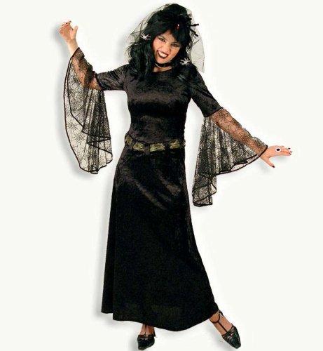 Gurimo-tex 24546 - Schwarze Witwe Kleid Größe: - Große Schwarze Witwe Kostüm