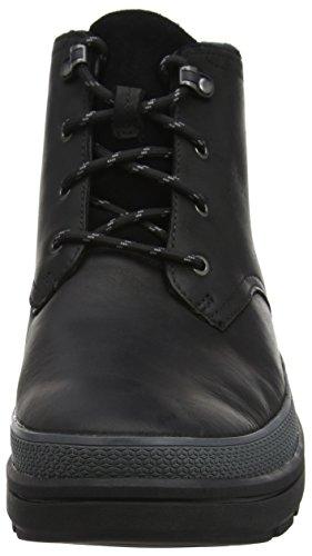 Clarks Rushwaymid Gtx, Bottes Classiques homme Noir (Black Leather)