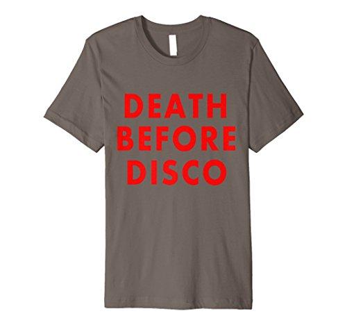 Death Before Disco Retro Funny Shirt Preisvergleich