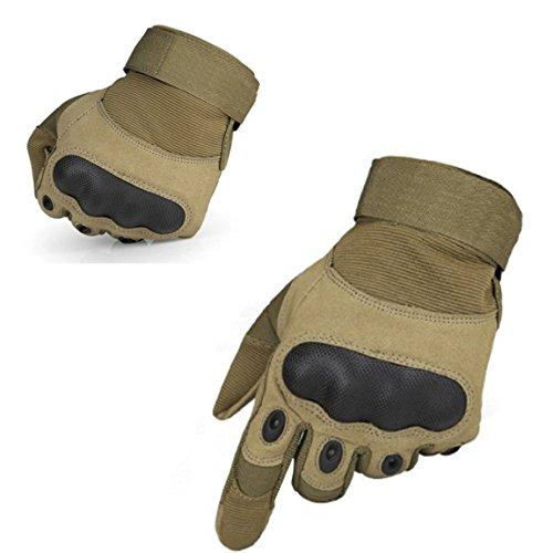 Taktische Handschuhe Motorrad Handschuhe Herren Army Gloves geeignet für Motocross Skifahre Paintball und andere Outdoor Aktivitäten, (Handschuhe Fingerlose Motorrad)