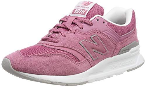 New Balance Damen 997H Sneaker, Pink (Mineral Rose/White), 38 EU