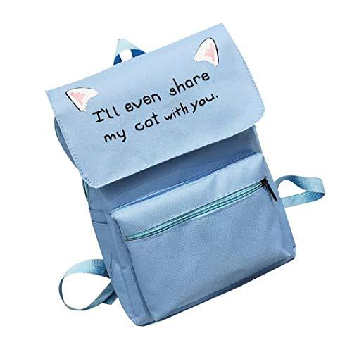 Carino studente maschio e femmina college zaino zaino-borsa da studente unisex da viaggio con tracolla a spalla in feltro-borsa da viaggio di grande capacità-zaino per studenti-borsa del portatile