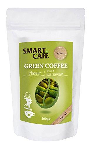 Grüner Kaffee gemahlen entkoffeiniert bio 200g Rohkaffee