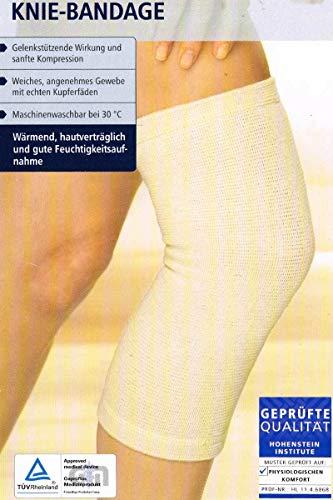 Sensiplast Knie Bandage mit echten Kupferfäden S/M -