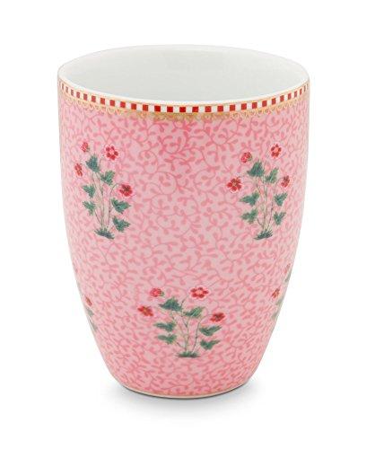 PIP Studio Drinking Mug Floral Good Morning Pink Becher Utensilien Schminke Floral Becher