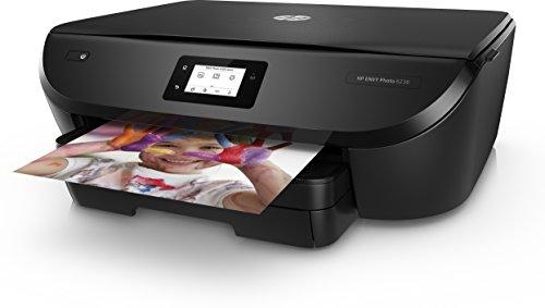 HP Envy Photo 6230 – Impresora multifunción inalámbrica (Tinta, Wi-Fi, copiar, escanear, impresión a Doble Cara, 1200 x 1200 PPP, Incluido 4 Meses de HP Instant Ink) Color Negro