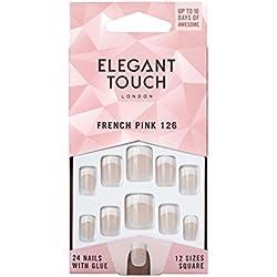 Elegant Touch, Aparato eléctrico y accesorio para manicura y pedicura (126, S, Pink) - 1 unidad