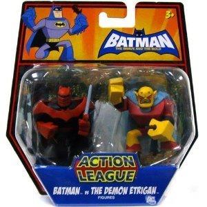 Batman The Brave & the Bold Action League Action Figures - Batman vs the Demon Etrigan