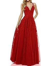 Abendkleider rot amazon