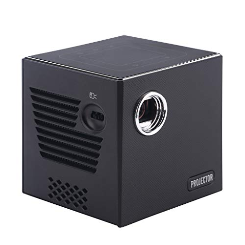 goodjinHH Beamer, Mini WiFi Projektor, Video Beamer unterstützt Airplay Miracast DLNA und Full HD 1080P, Kompatibel TV Stick Spielkonsole PC Smartphone Tablet HDMI VGA USB TF Gerät Heimkino Beamer. - Led-projektor-1080p-epson