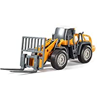 YuanNa DIY Assembly Large Simulation Engineering Vehicle Model Excavator Car Toys for Children;DIY Assembly Large Simulation Engineering Vehicle Model Excavator Car Toys