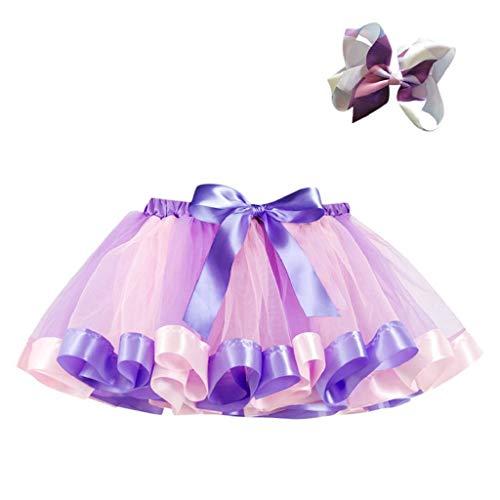 b0a68a1c6 Falda del Tutu para Niña,SHOBDW Niños Regalo De Cumpleaños Fiesta De Tutú  Baile Ballet