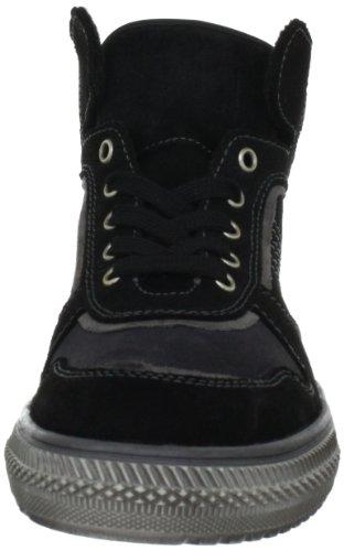 Richter Kinderschuhe 82.6213.1021, Chaussures basses garçon Noir (Black/Steel/Chrome 1021)