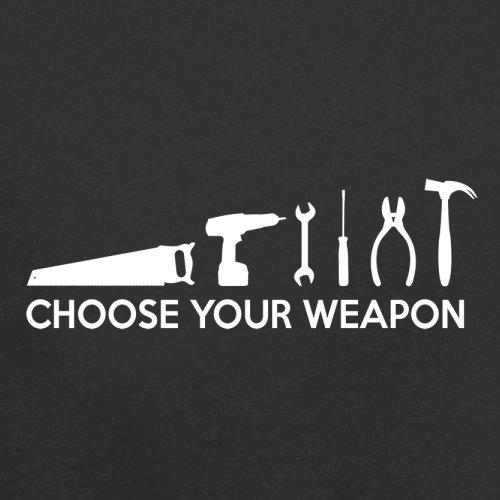 Choose your Weapon (DIY Tools) - Herren T-Shirt - 13 Farben Schwarz