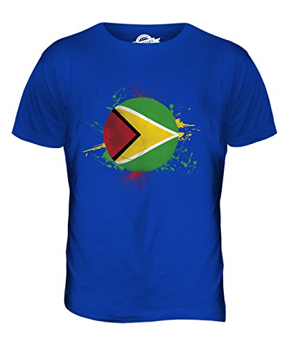CandyMix Guyana Fußball Herren T Shirt Königsblau