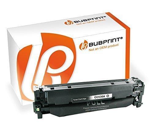 Bubprint Toner kompatibel für HP CC530A 304A für Color Laserjet CM2320FXI CM2320NF CM2320N MFP CP2020 CP2025 CP2025N CP2025DN 3500 S. Schwarz Black -