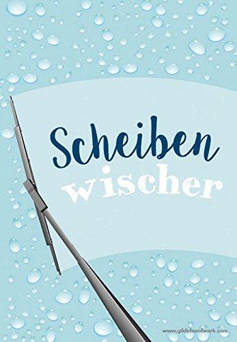 Brillenputztuch - Scheibenwischer - 12,5 x 18 cm