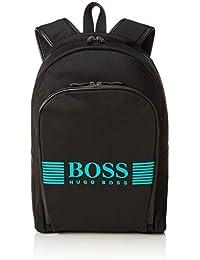 BOSS Herren Pixel_backpack Rucksack, Schwarz (Black), 12x43x29 cm