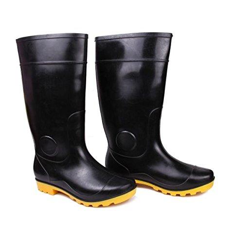 Hillson TC07HLS0149_Size 7 Century Safety Gumboots, Yellow, UK Size 7