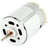 RS380 Gleichstrommotor - TOOGOO(R)RS380 DC 1.5-18V 30000 RPM Micro Motor 38x28mm fuer RC Modell Spielzeug DIY, Silber