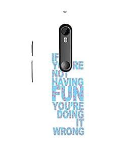Ebby Premium 3d Desinger Printed Back Case Cover For Moto X Style (Premium Desinger Case)