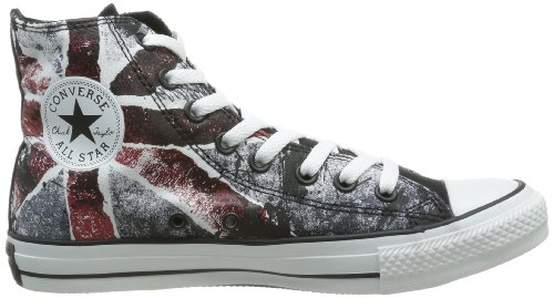 Converse Ctas Core Hi, Baskets mode mixte adulte Turchese (Jet Black/Chili Pepper)