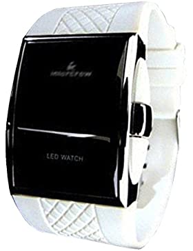 BYD - LED Watch Unisex Uhren Watch Silikongel Mehrfarbig Digitals Quarzwerk Digital