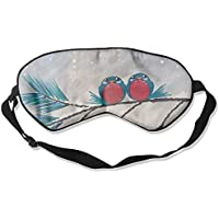 Eye Mask Eyeshade Birds Snow Painting Sleep Mask Blindfold Eyepatch Adjustable Head Strap preisvergleich bei billige-tabletten.eu
