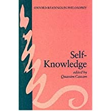 [(Self-knowledge)] [Author: Quassim Cassam] published on (March, 1994)