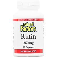 Rutin, 250 mg, 90 Kapseln - Natürliche Faktoren preisvergleich bei billige-tabletten.eu