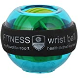 [Sponsored]7Days Aapka Bazar Plastic Gyroscopic Wrist And Forearm Exerciser Fitness Wrist Ball With LED, 7 Cm