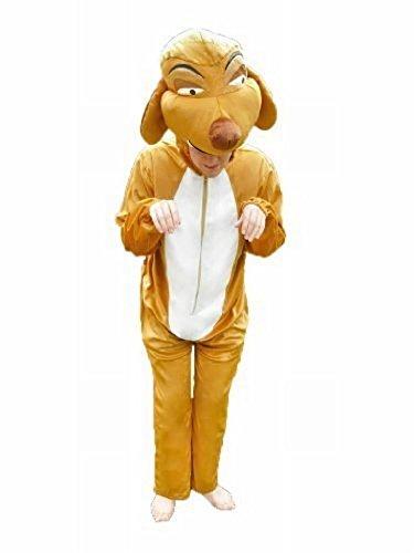 Dschungels König Kostüm Baby Des - Erdmännchen-Kostüm, Su02/00 Gr. L-XL, Erdmännchen-Kostüme für Männer und Frauen, Tier-Kostüme für Fasching Karneval, als Karnevals- Fasnachts-Kostüm, Tier-Kostüme Faschings-Kostüme Erwachsene
