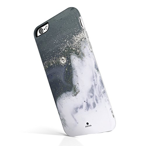 the best attitude f7b1c f1083 Akna iPhone 6 Plus/6s Plus case Marble, Charming Series Flexible Silicon  Cover for both iPhone 6 Plus & iPhone 6s Plus (923-U.K)
