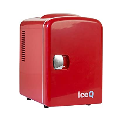 iceQ 4 Litre Mini Fridge - Red