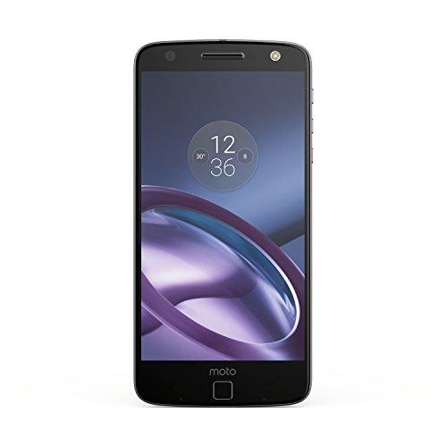 Foto Lenovo Moto Z Smartphone, Dual SIM, Schermo 5.5 pollici Amoled Quad-HD 535 ppi, Fotocamera 13 MP, Processore Qualcomm® Snapdragon™ 820 con CPU Quad-core e supporto di GPU fino a 1,8 GHz, 4 GB di RAM, 32 GB di Memoria Interna espandibile fino a 2 TB, Nero [Italia]