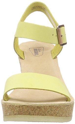 Clarks Originals Lime Parade Jayda Pale Damen Knöchelriemchen Sandalen Grün qqrR4an