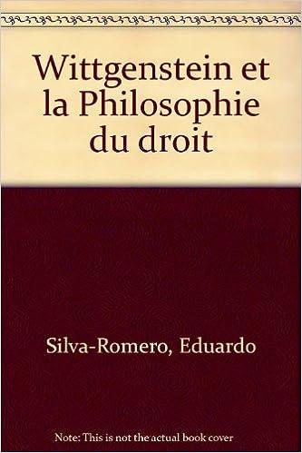 Téléchargement Wittgenstein et la Philosophie du droit pdf