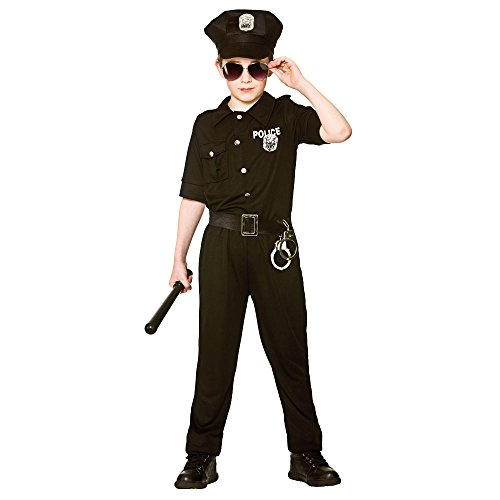 Cop Kostüm Boy - New York Cop Boy's Costume Police